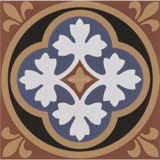 "Original Style 6266V blue / white Liverpool 151 x 151   6 x 6"" decorative tile"