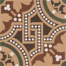 "Original Style 6268V green Salisbury 151 x 151   6 x 6"" decorative tile"