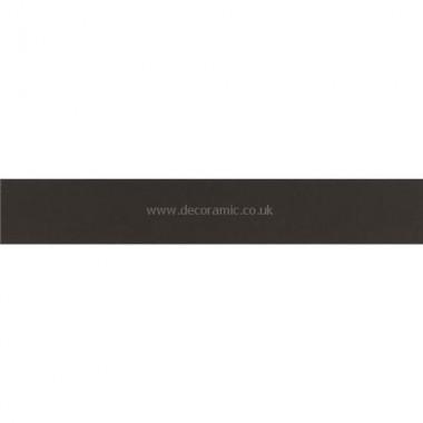 """Original Style 6321V black rectangle 151 x 24   6 x 1"""" plain tile"""
