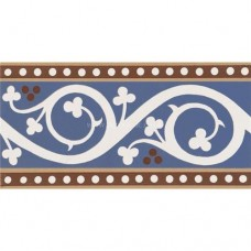 "Original Style 6572V blue Kitchener Border 151 x 75 | 6 x 3"" decorative tile"