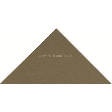 "Original Style 6713V green triangle 73 x 52 x 52 | 3 x 2 x 2"" plain tile"