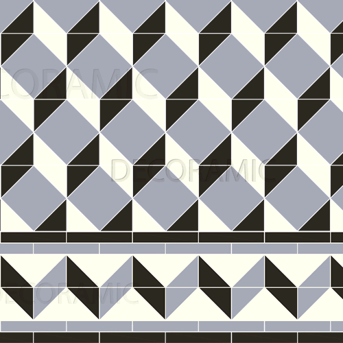 Art Deco With Shelley Victorian Floor Tile Design