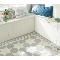 Carlisle with Woolf victorian floor tile design