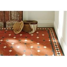 Harrogate (A) with Hardy victorian floor tile design