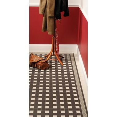 Ambleside with Greek Key victorian floor tile design