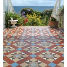 Blenheim with Telford victorian floor tile design