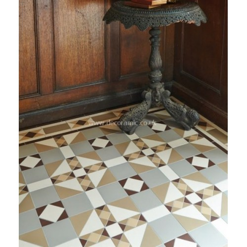Colchester Original Style Victorian Floor Tiles