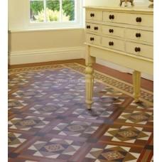 Lindisfarne with Stevenson victorian floor tile design