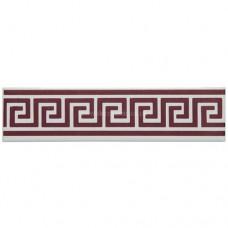 "Original Style F9025A Greek Key 152 x 40mm | 6 x 1 1/2 "" decorative tile"
