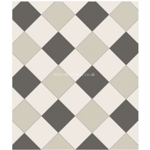 Oxford 3 Colour Original Style Victorian Floor Tiles
