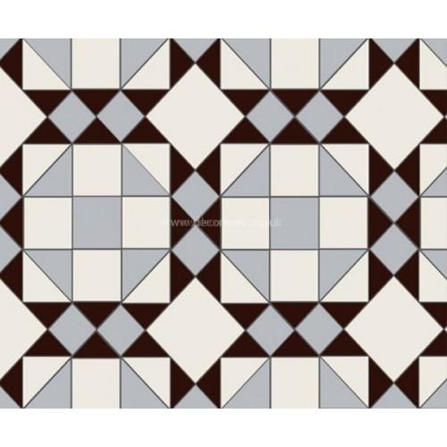 Rochester 3 Colour Original Style Victorian Floor Tiles