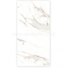 Ferrara Marble Carrara Marbles Porcelain Tile 1200x600mm Polished thin porcelain tile by Porcel-Thin