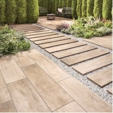 Lodge Natural Matt Porcelain tile P10692 30x120cm Verona Al Fresco