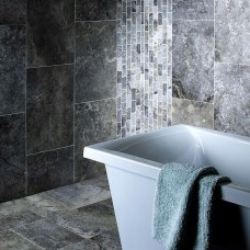 Anatolian Grey Mixed Stone tile Verona S10005 610x406mm