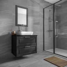 Anderley Dark Grey Matt Porcelain tile Verona P10962 300x600mm