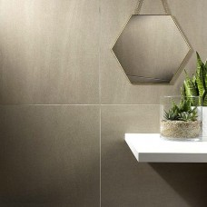 Art Rock Taupe Lappato - Semi-polished Porcelain tile P10414 600x600mm Verona