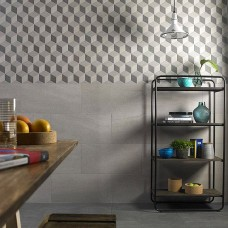 Art Rock Grigio Lappato - Semi-polished Porcelain tile P10484 600x300mm Verona