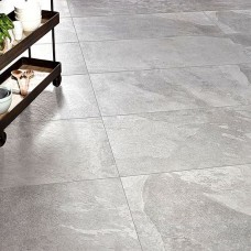 Atlanta Grey Matt Porcelain tile P10530 1200x600mm Verona