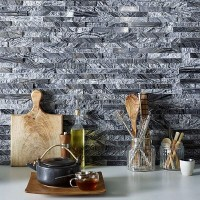 Zeus Split Face Mixed Stone tile Verona S20101 100x360mm