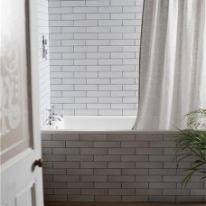 Frost Smooth Glazed Ceramic tile W.ELOFRS2406 240x60mm Elements The Winchester Tile Company