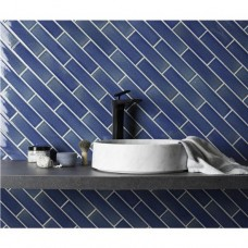 Rockpool Crackle Glazed Ceramic tile W.ELPRO2406 240x60mm Elements The Winchester Tile Company