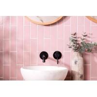 Blush Smooth Brick Tile Glazed Ceramic W.ELOBLS2406 240x60mm Winchester Tiles