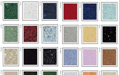 Quartz sparkle tile