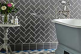 Find Tiles for bathrooms