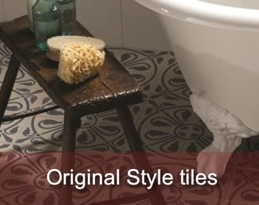 Original Style tiles for wall and floor applications