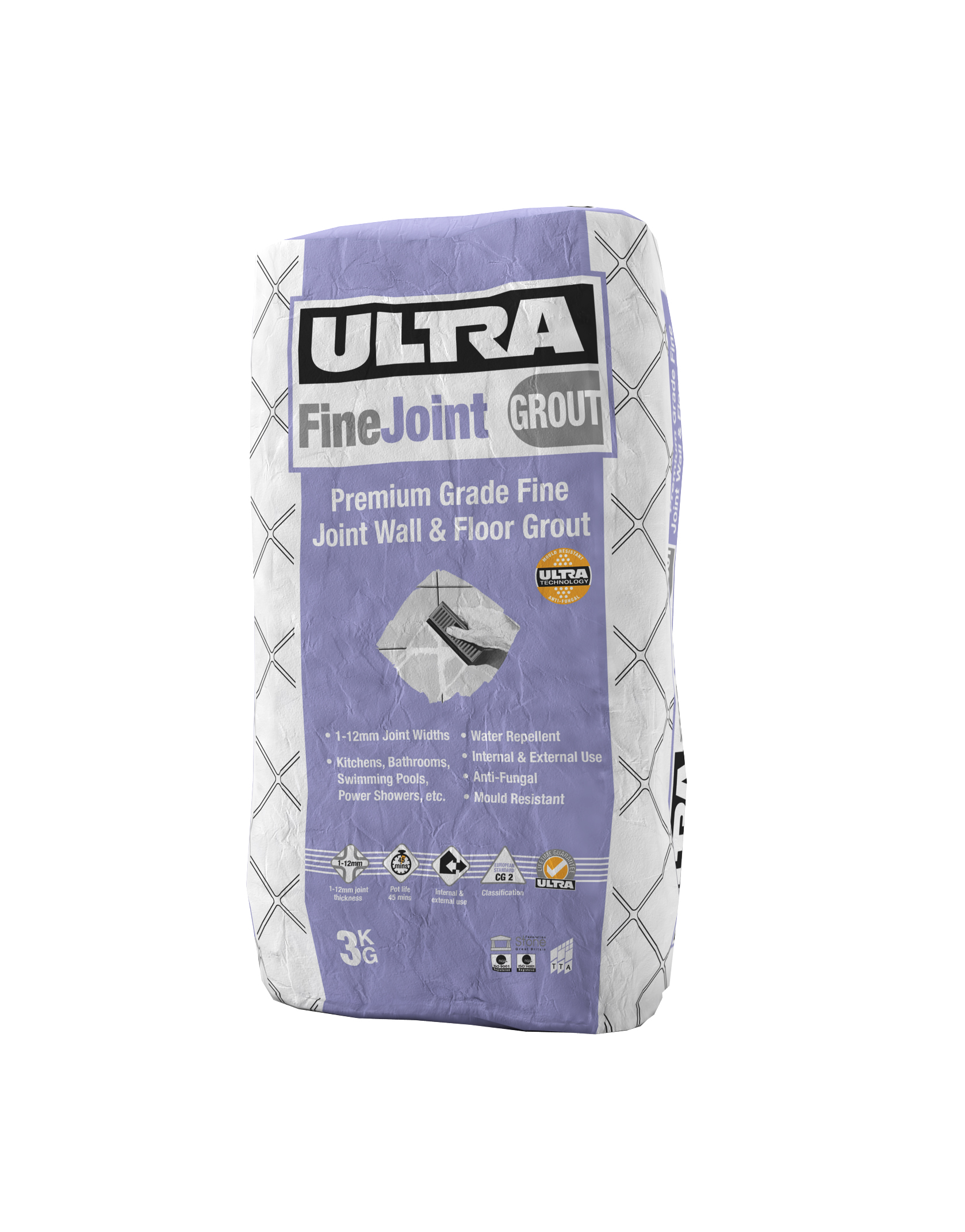 Ultra Fine, Flexible grouts