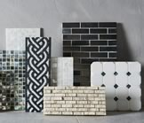Many Decorative Tiles