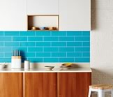 Glass Kitchen Wall Tiles