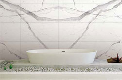 Large thin porcelain tiles
