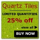 Quartz tiles clearance