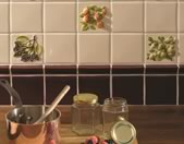Textured kitchen Wall Tiles