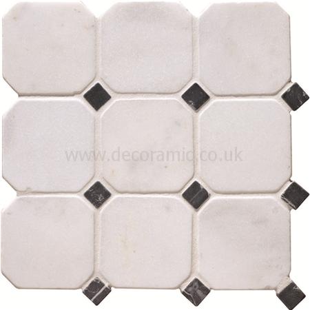 Venetian stone octagon mosaics