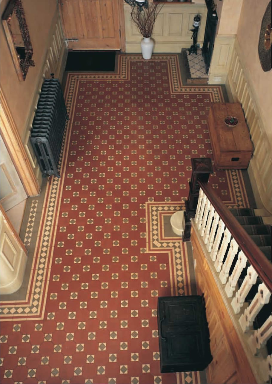 Victorian Tiles For Wall And Floor