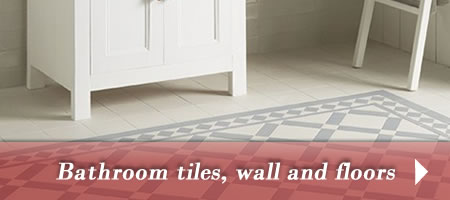 Bathroom tiles for walls and floors
