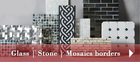 Glass borders | Stone Dados | Mosaics
