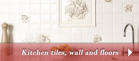 Kitchen tiles for walls and floors