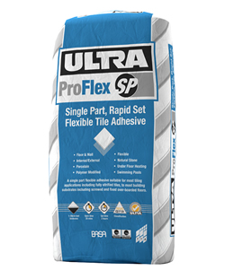 Rapid Setting Flexible Floor Tile Adhesive 20Kg SP