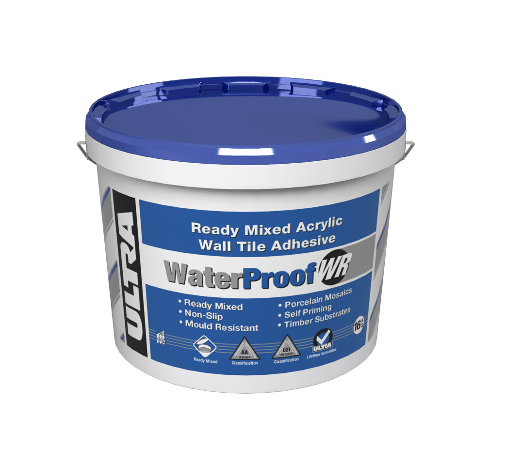 WaterProof Wall Tile Adhesive 16Kg/10 litres