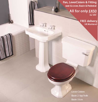 Rainham sink & toilet