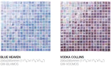 Blue Heaven & Vodka Collins highlight mosaic