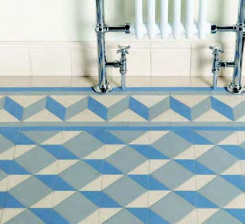 Victorian Bathroom Tiles Geometric Bathroom Tiles