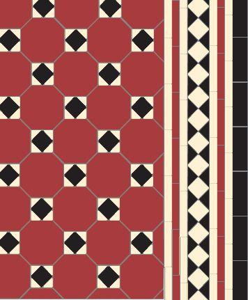 Arundel in red black white