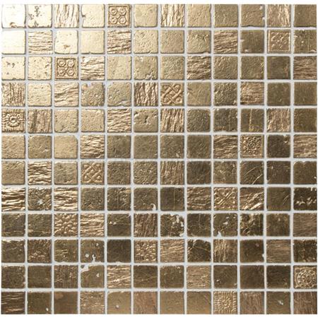 Original Style tiles Inca Gold 23 Mosaic mosaic wall tile 300 x 300 x 8. Gold Mosaic Bathroom Tiles