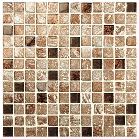 Postojna Glass And Stone Mosaic Mixed Textures Tile 300 X