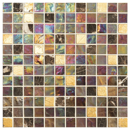 mosaic kitchen tiles uk mellow therapy glass mosaic iridescent tile 300 x 300 x 8 7860