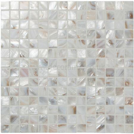 Pearl Shell Mosaic Gloss Tile 305 X 305 X 2 Mm Ew Prlmos